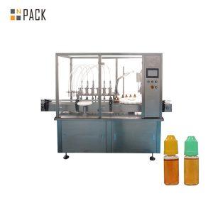 Peristaltisk pumpe væskefyllingsmaskin for liten flaske med hetteglass
