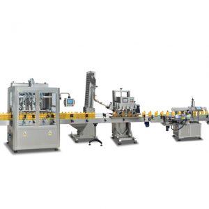 Helautomatisk 2 til 1 sus304-flaskeutstyrsmaskiner for fremstilling av olivenolje