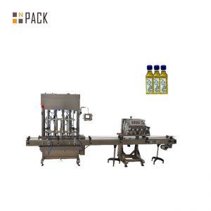 Automatisk 2 dyser gel neglelakk påfyllingsmaskin for flaske