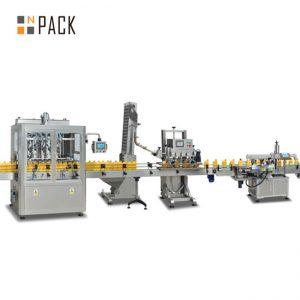 syltetøy stempel påfyllingsmaskin, automatisk varm saus fylle maskin, chilisaus produksjonslinje