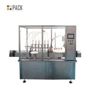 Essential Oil Fylling Cap Skrueutstyr 10-100ml E flytende E juice Fylling Capping Machine