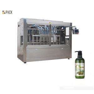 Komplett automatisk flaskemaskin med håndbade for flasker
