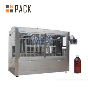 Automatisk fyllingsmaskin med matolje saus syltetøy honning fylling capping maskin