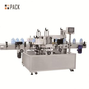 Automatisk rund flaske roterende klistremerke etikett maskin for ølflaske